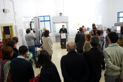 Se inaugura el laboratorio-taller del Departamento en la Escuela Politécnica Superior de Algeciras